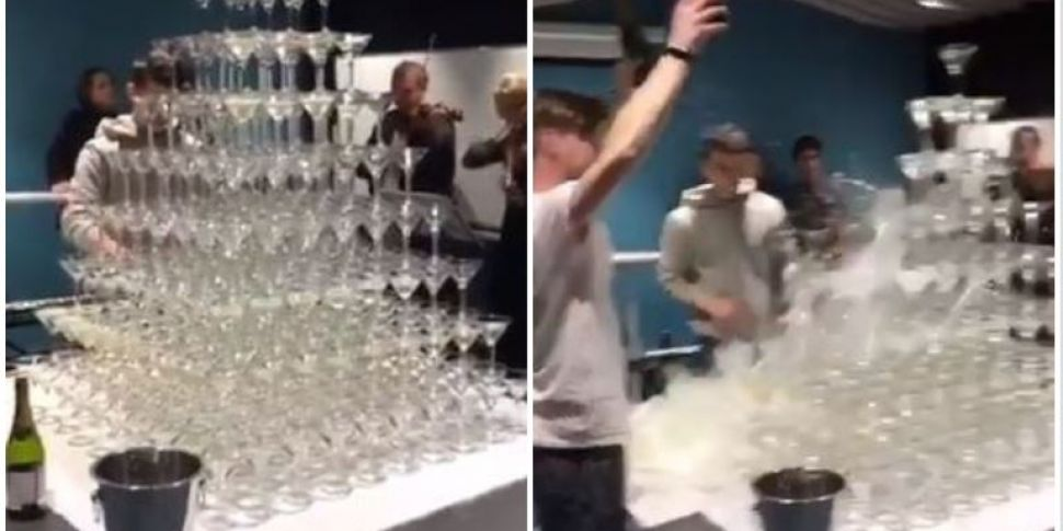 Barman Accidentally Causes Ent...