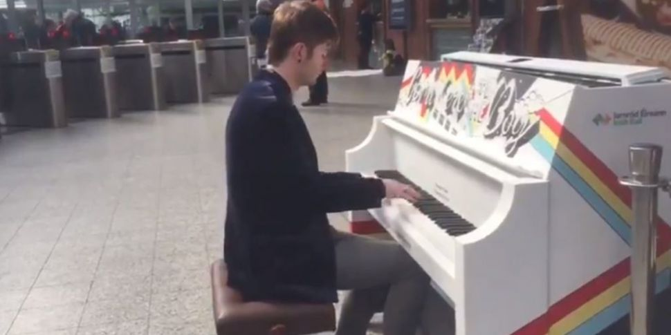 Irish Rail Installs Piano At Cork Station