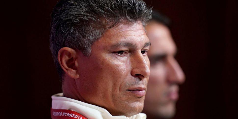 Bulgaria manager Krasimir Bala...