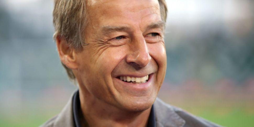 Jurgen Klinsmann is the new ma...