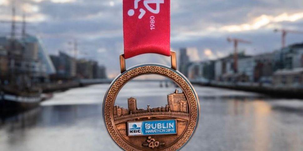 Dublin Marathon Underway