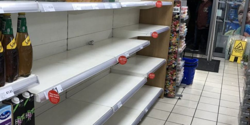 Bottled Water Selling Out In D...