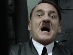 Hitler reacts to Lions team an...