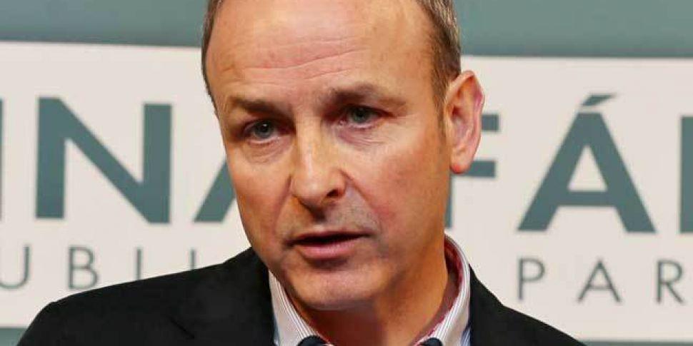 Fianna Fail Support Down 5 Poi...