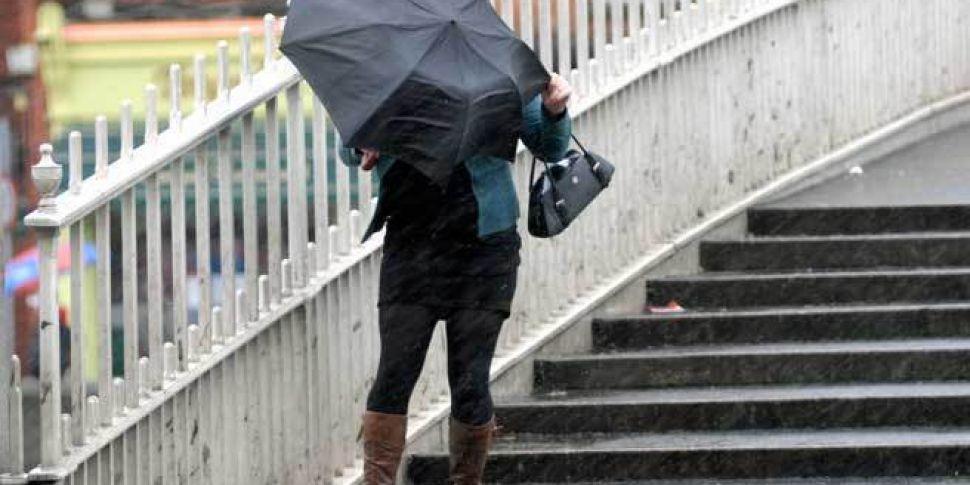 Storm Diana Hits Ireland With...