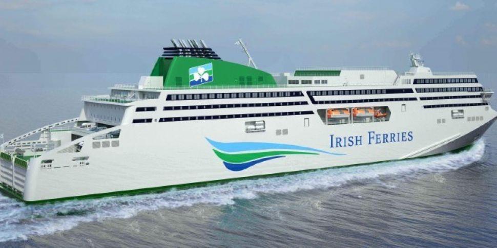 Irish Ferries Service From Ros...