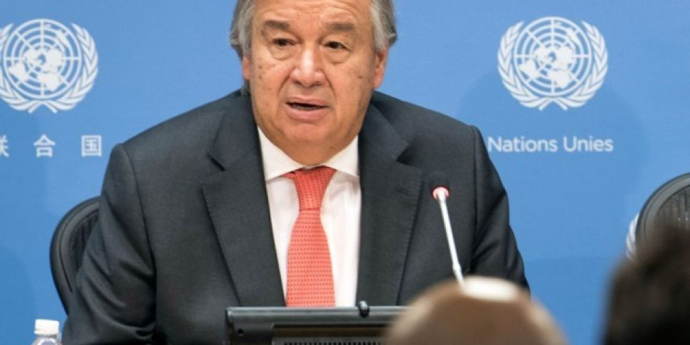"UN Chief Warns Of ""Full-Bl..."