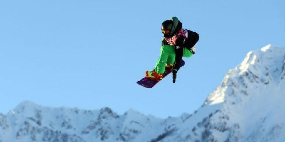 Irish snowboarder Seamus O&#39...