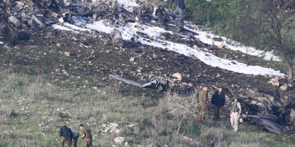 Israeli Fighter Jet Shot Down