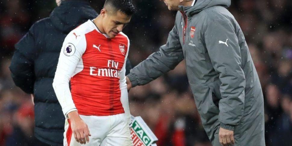 Arsene Wenger confirms Alexis...