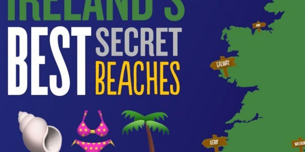 Map Of Ireland Beaches.Ireland S Best Secret Beaches For The Long Weekend