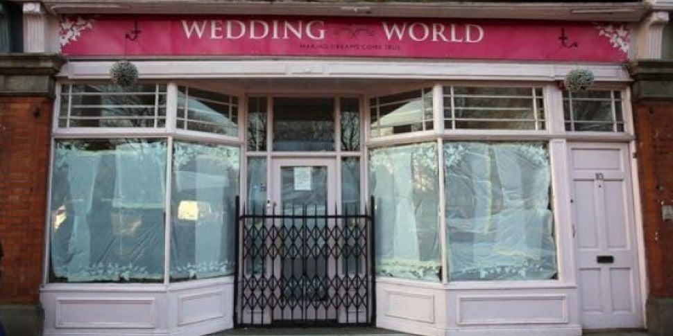 Bridal Shop Closes Leaving 130...