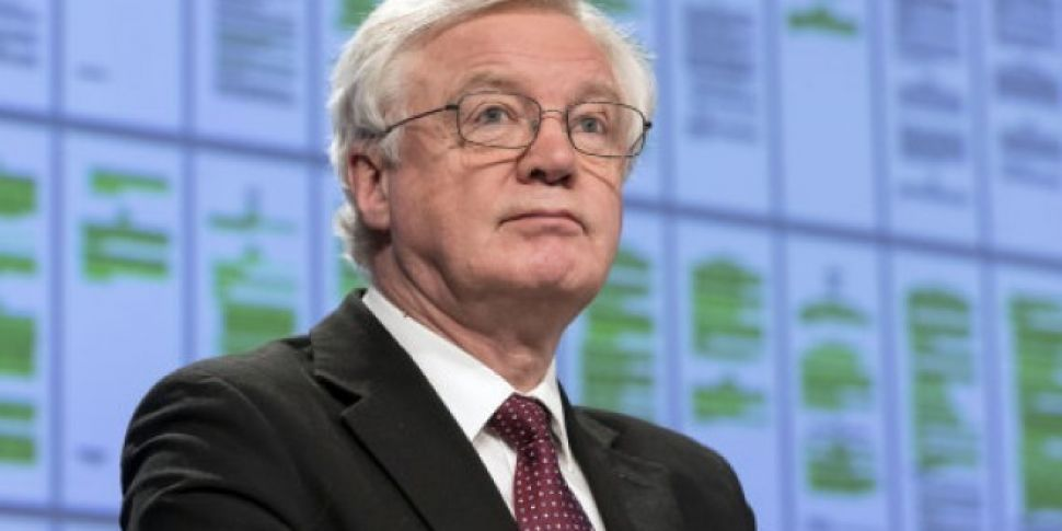 Brexit Secretary David Davis S...