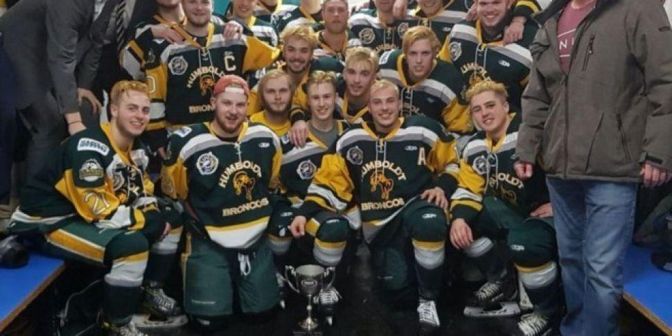 14 Junior Hockey Players Kille...
