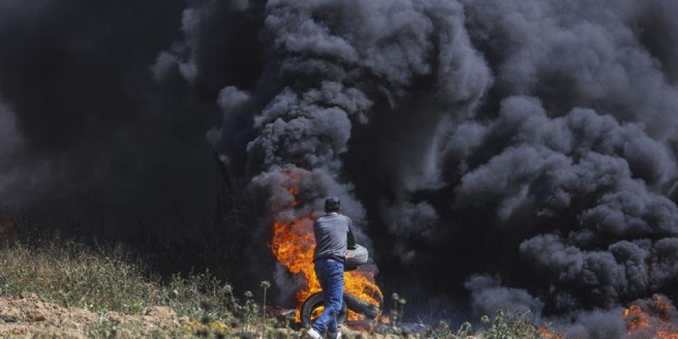 Nine Palestinians Killed Durin...