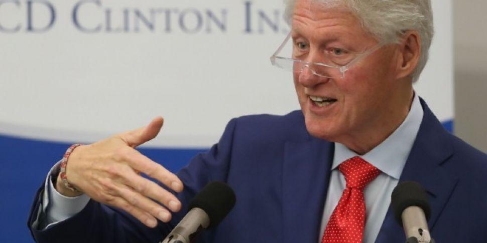 Clinton Warns Taking Irish Pea...