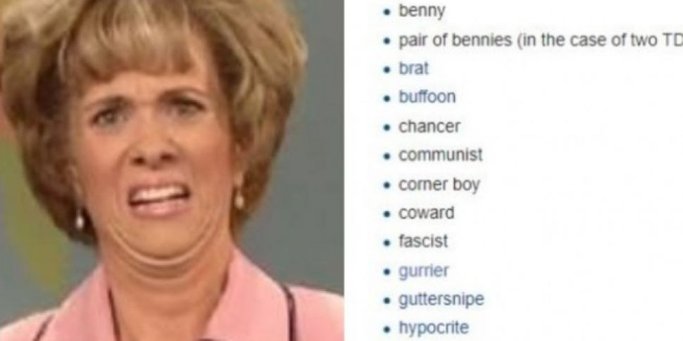 This List of Banned TD Words H...