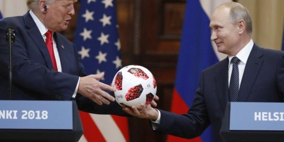 Putin Invites Trump On Moscow...