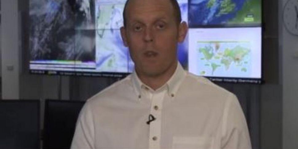 BBC Weather Expert Faints Live...