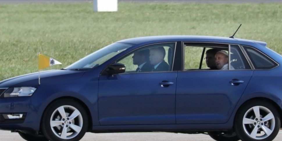 Car Used By Pope To Be Given T...