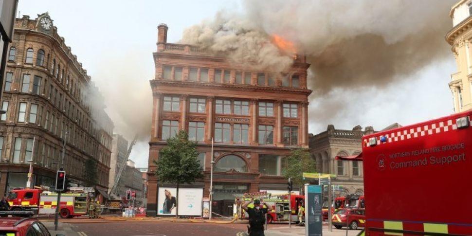 Major Blaze At Primark Store I...