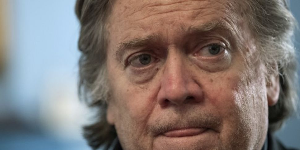 Steve Bannon Dropped From US F...