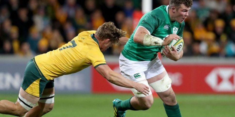 O'Mahony inspires Ireland...