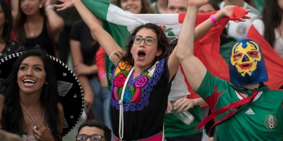Mexico's World Cup celebra...