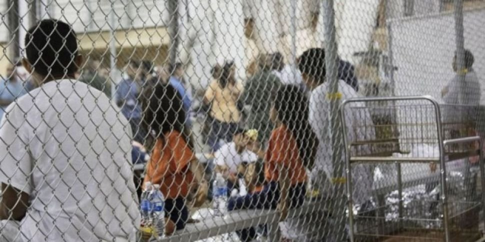 Trump Defends 'Caged Child...