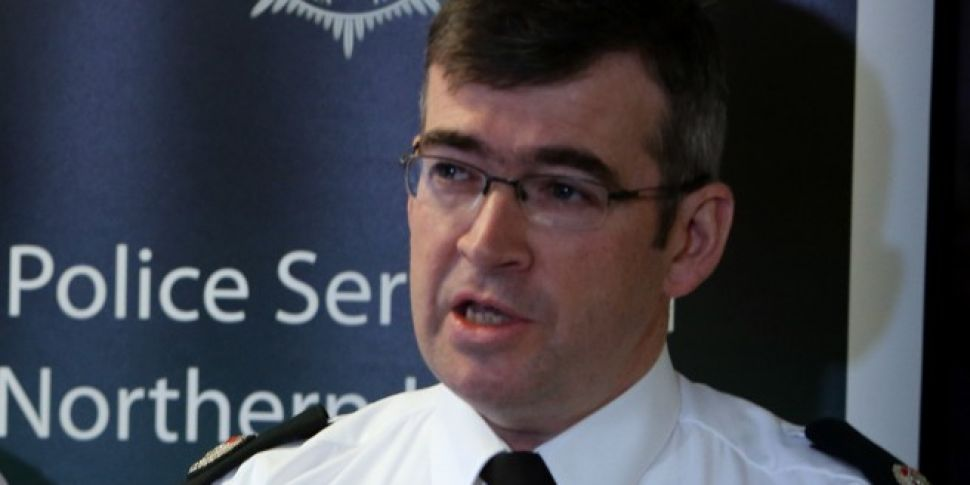 PSNI's Drew Harris Named A...