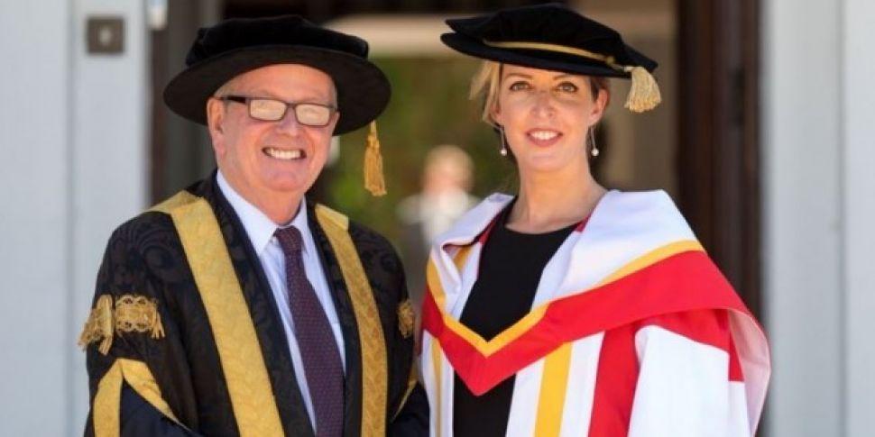 Vicky Phelan Gets Honorary Doc...