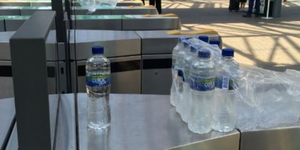 Free Bottles Of Water For Rail...