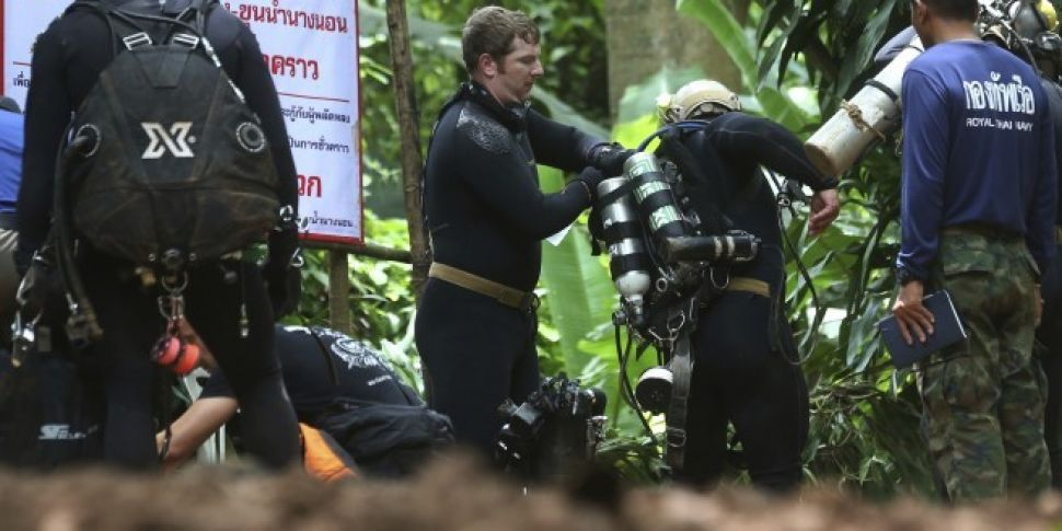 Boys Trapped In Thai Cave Cann...