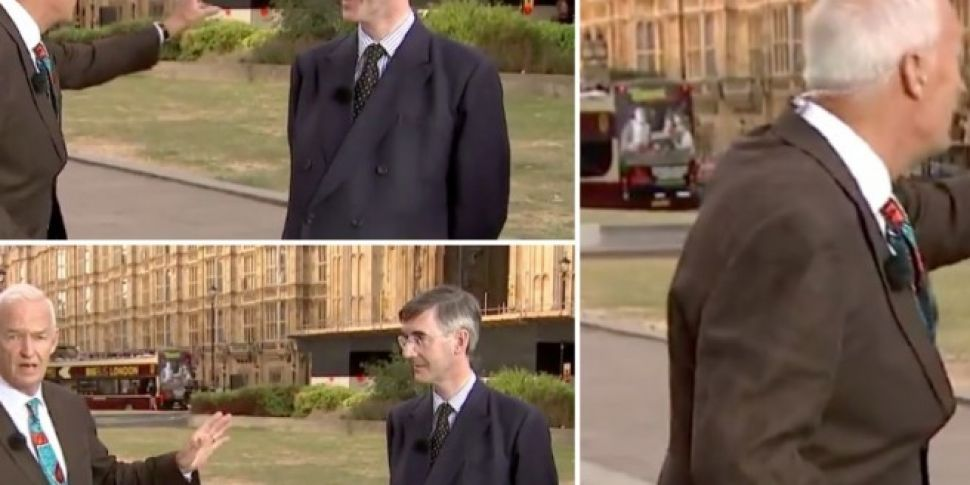Channel 4's Jon Snow Brill...