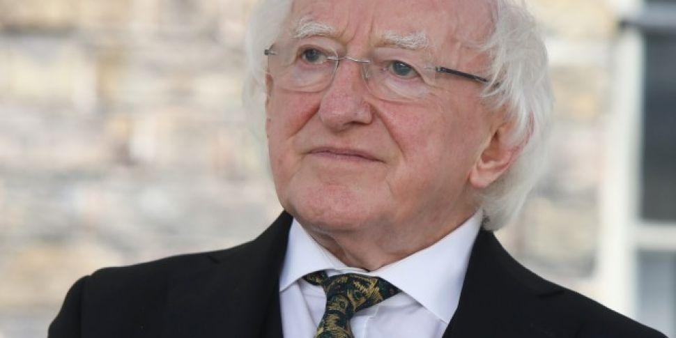 Fine Gael To Back President Hi...