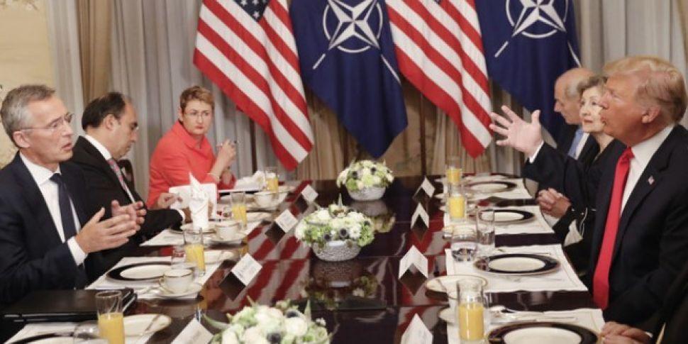 Merkel Responds To Trump Claim...