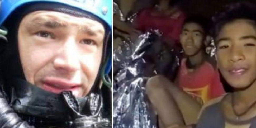 Irish Based Cave Diver Helped...