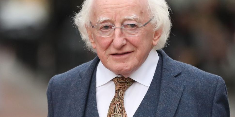 President Higgins Says His Own...
