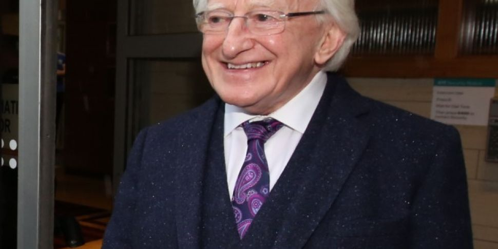 Michael D Higgins Leads Anothe...