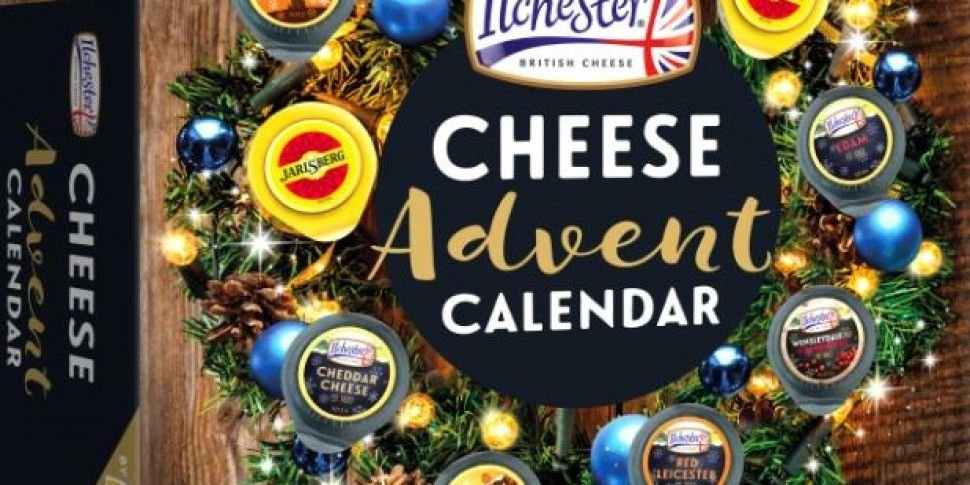 There Is A Cheese Advent Calen...