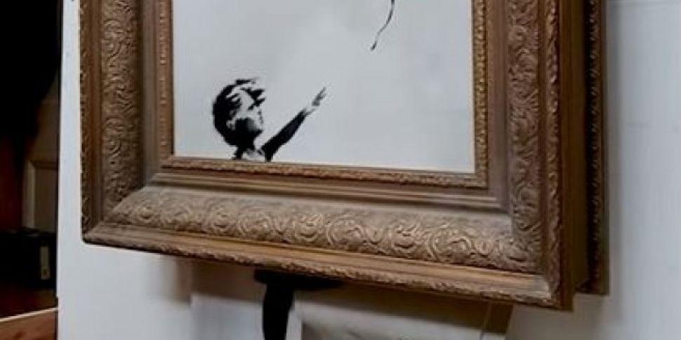 Banksy's Shredding Stunt D...