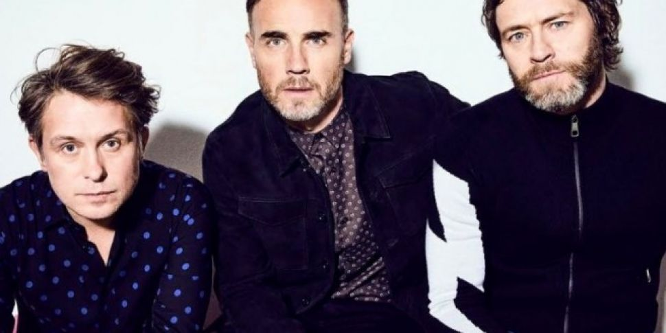 Take That Confirm They Are In...