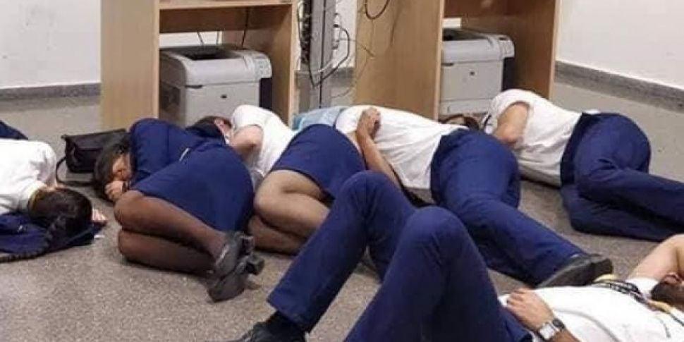 "Ryanair Sacks Staff For ""S..."