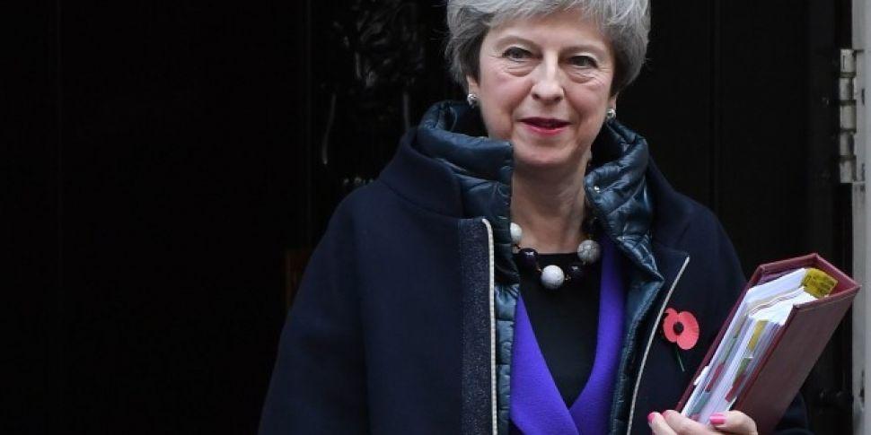 Theresa May Accused Of Breakin...
