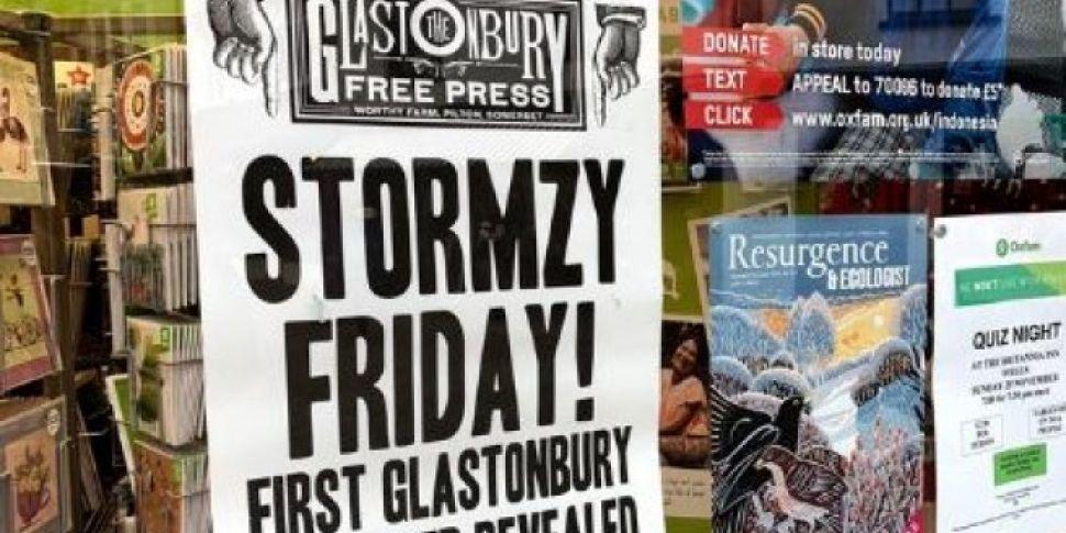 Stormzy Confirmed As Glastonbu...