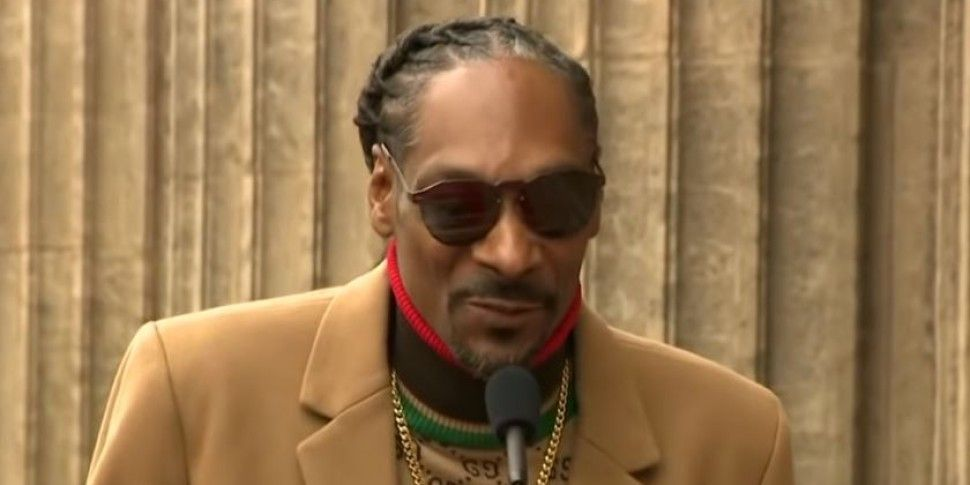 Snoop Dogg Thanks Himself In W...