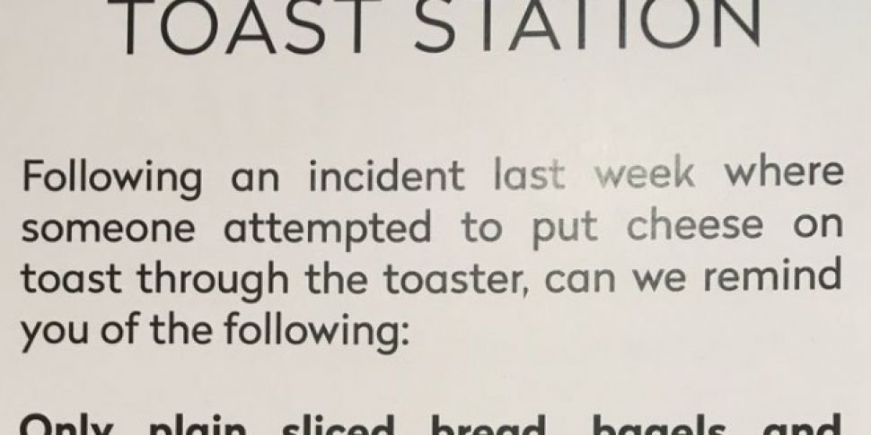 BBC Canteen Issue Warning Afte...