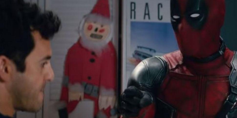 The Deadpool Christmas Trailer...