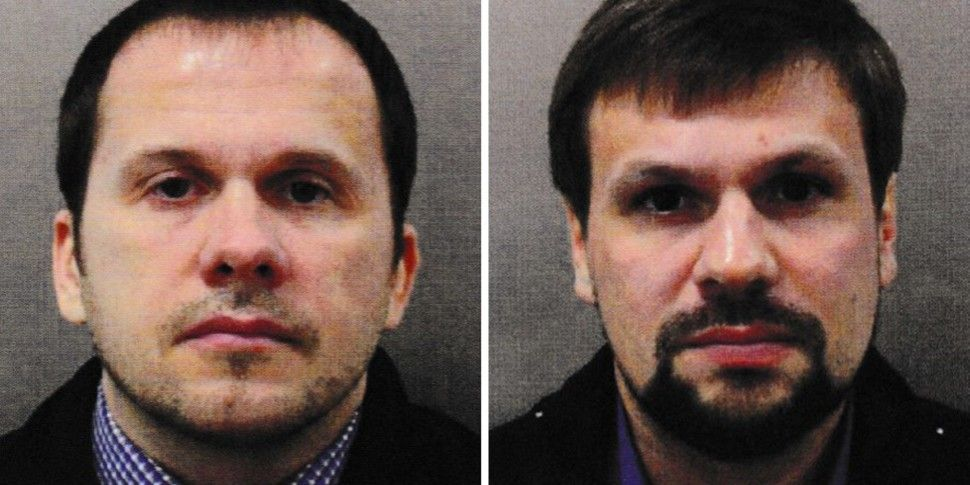 Skripal Suspects Claim They We...