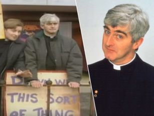 Sing hallelujah: Father Ted &#...